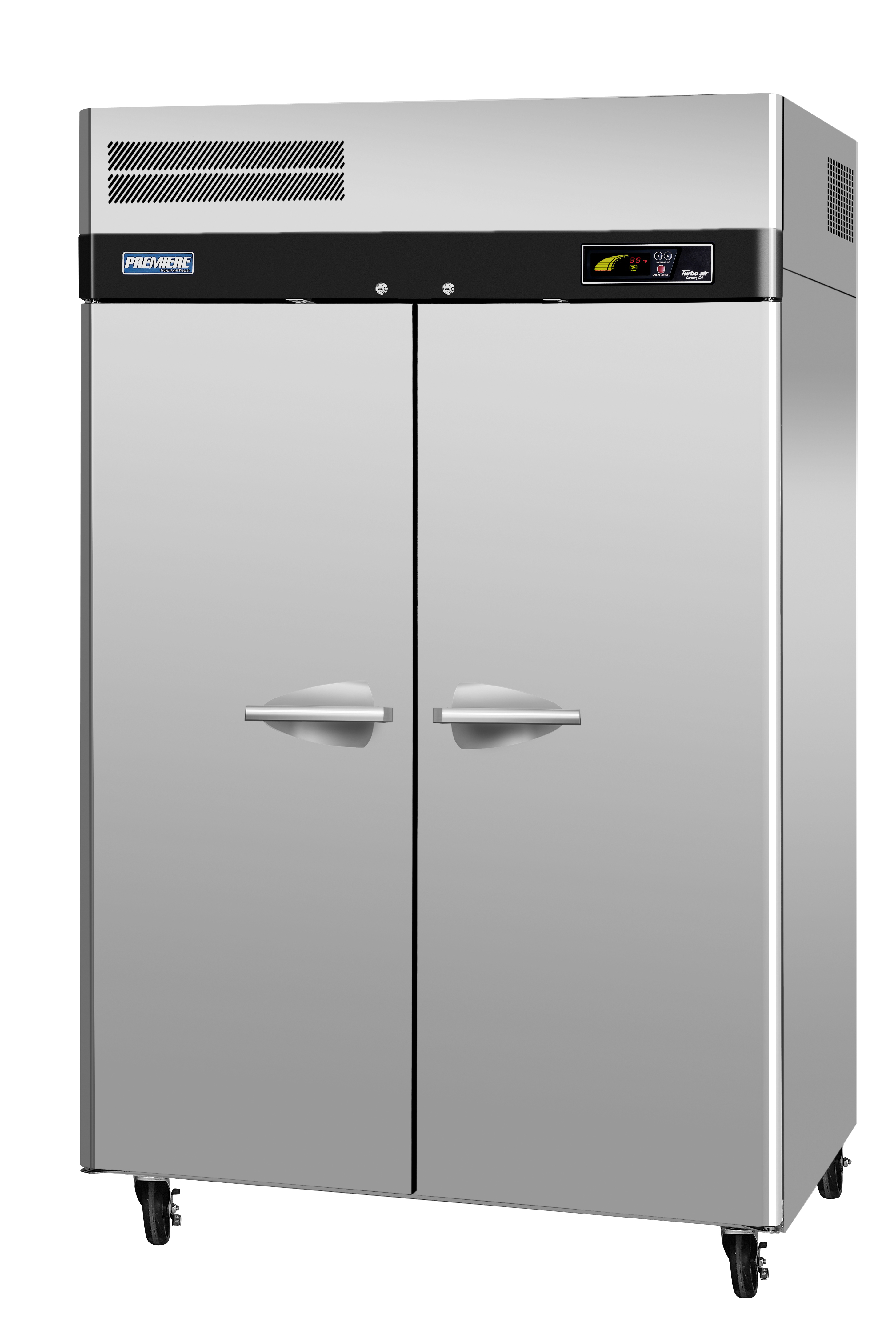 Premiere PRO Series Refrigerator, reach-in, two-section