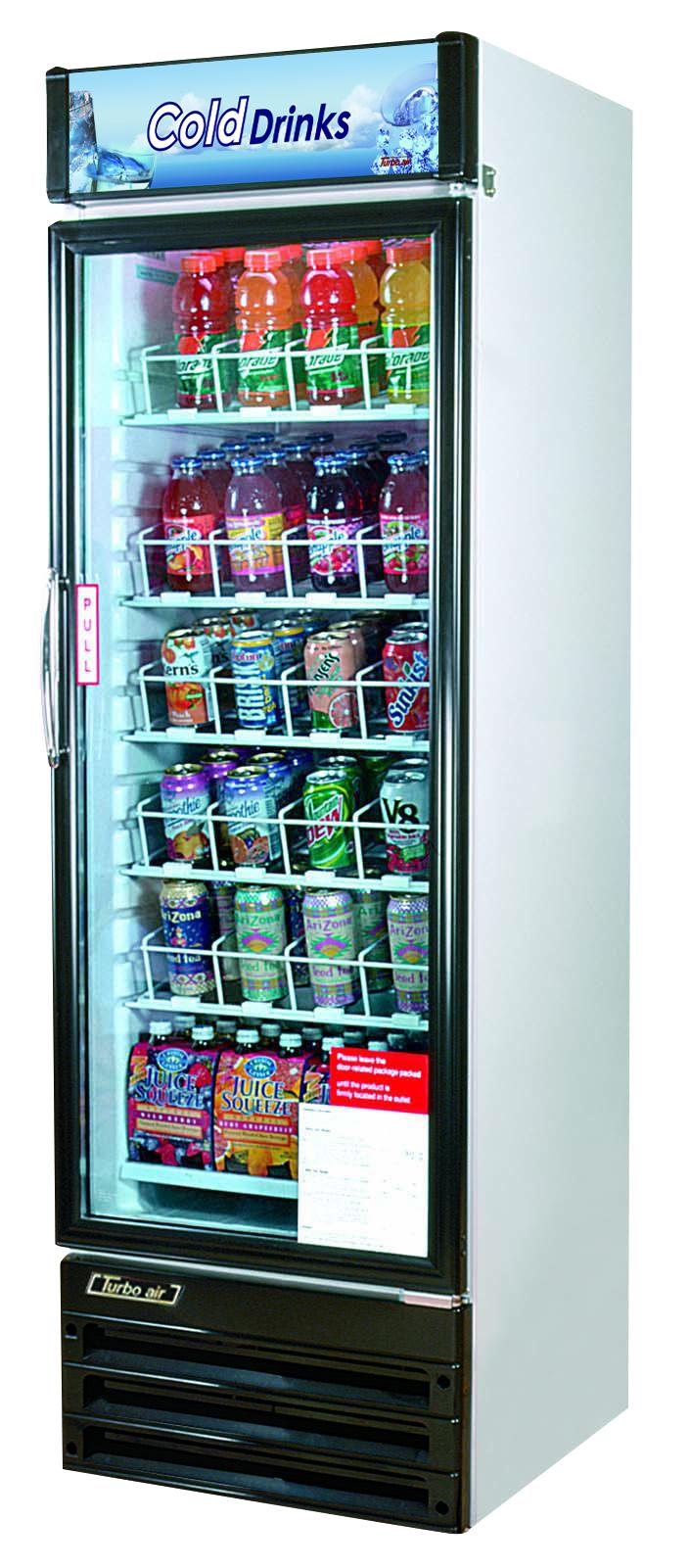 Glass door merchandisers aa restaurant equipment refrigerated merchandiser one section 14 cu ft planetlyrics Choice Image