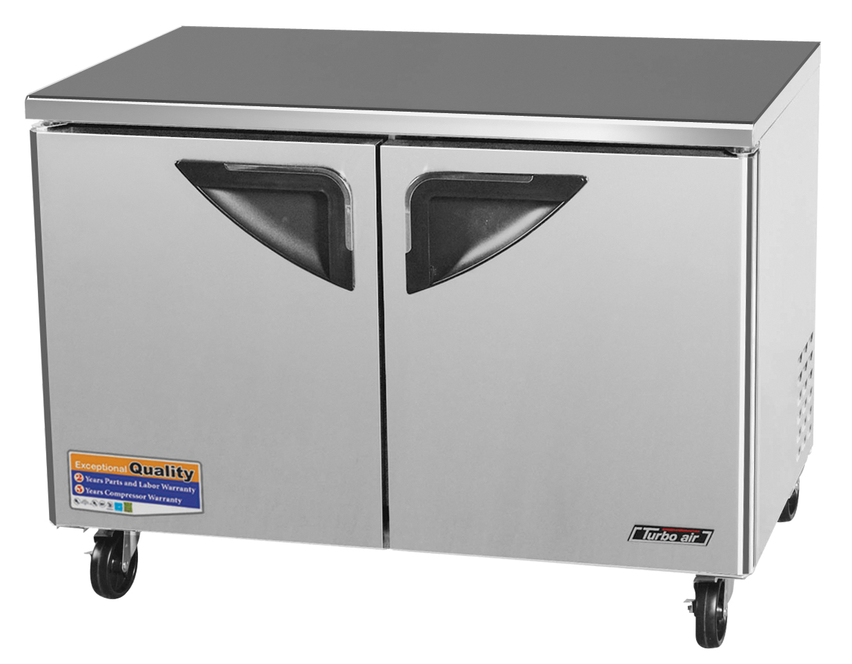 Super Deluxe Series Undercounter Freezer, two-section