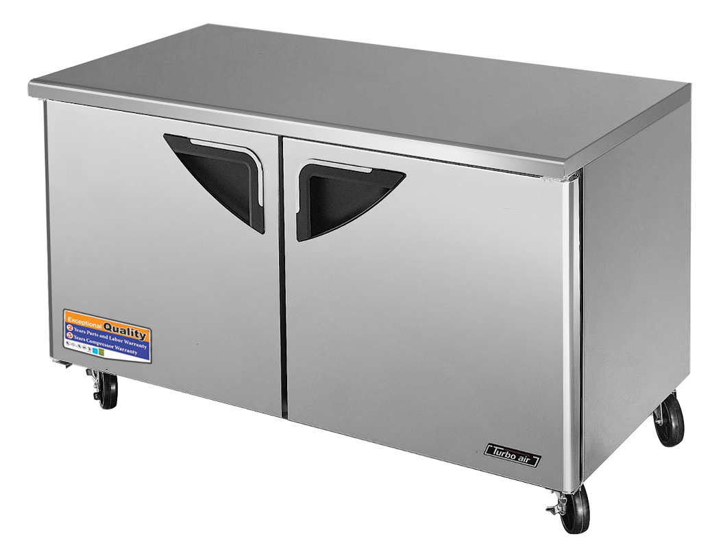 Super Deluxe Series Undercounter Refrigerator, 2-section