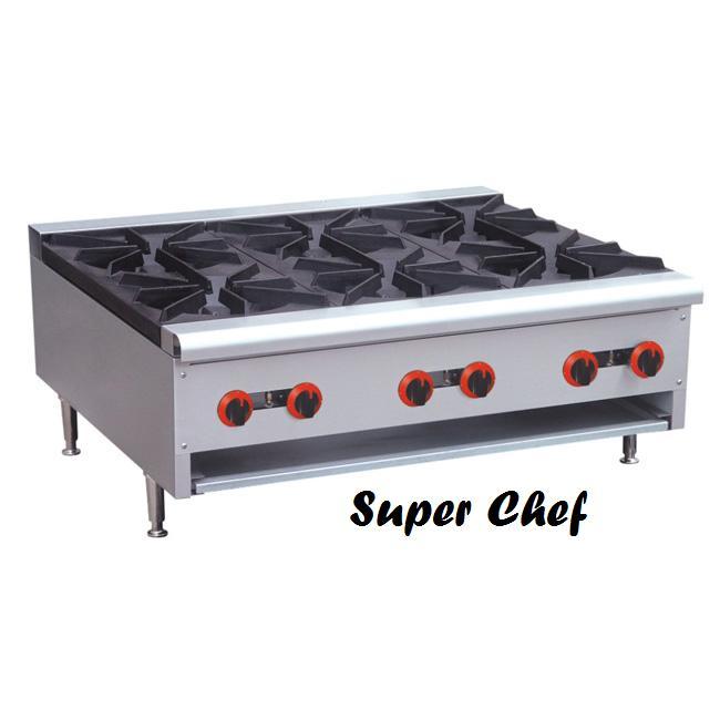 Countertop Gas Burner : Hot Plate 6 Burner Gas Countertop 36 [RB-6] - $869.00 : AA Restaurant ...